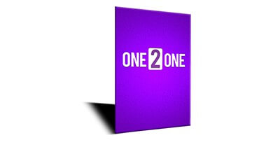 ONE 2 ONE ペーパーブック